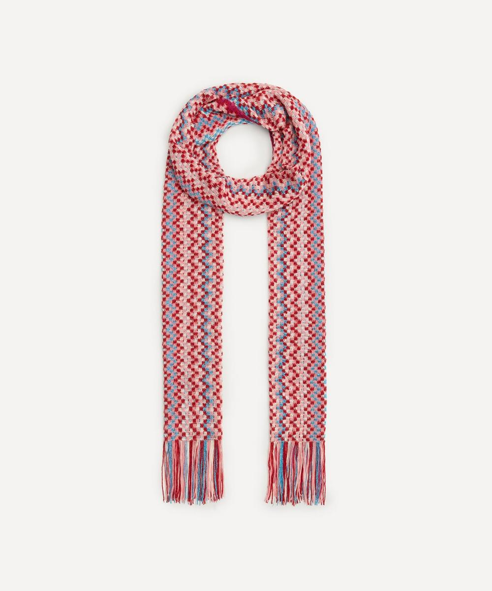 Missoni - Pixelated Zig-Zag Stripe Scarf