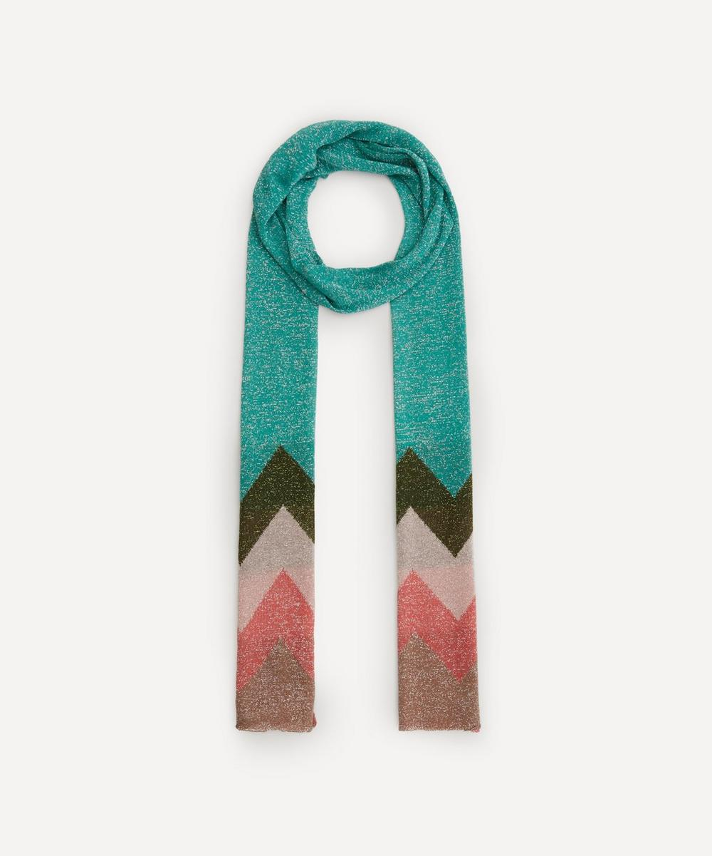 Missoni - Block Colour Zig-Zag Stripe Scarf