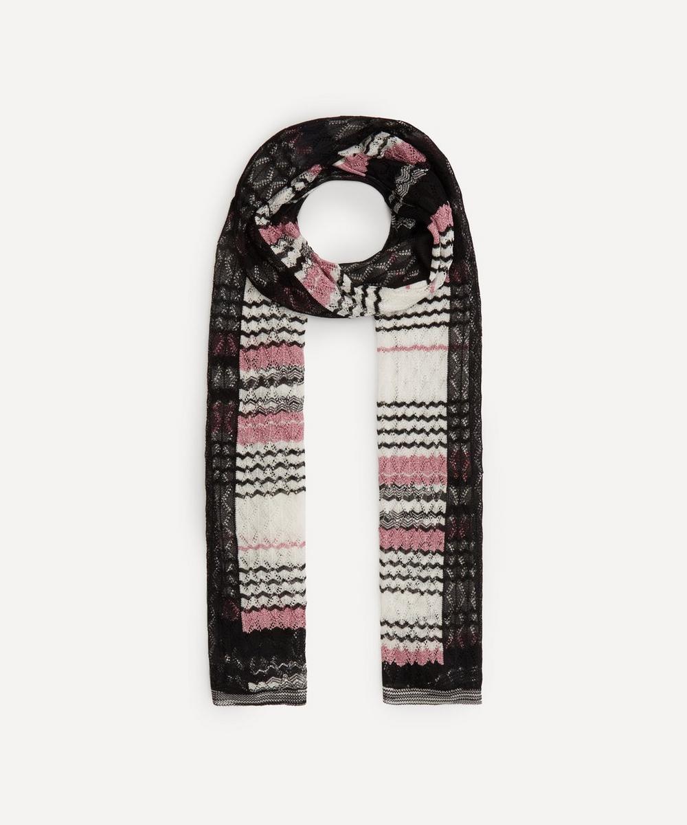 Missoni - Zig-Zag Stripe Loose Knit Scarf