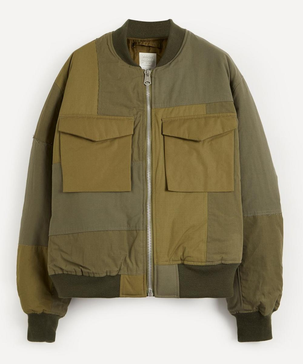 Kuro - Military Patchwork Bomber Jacket
