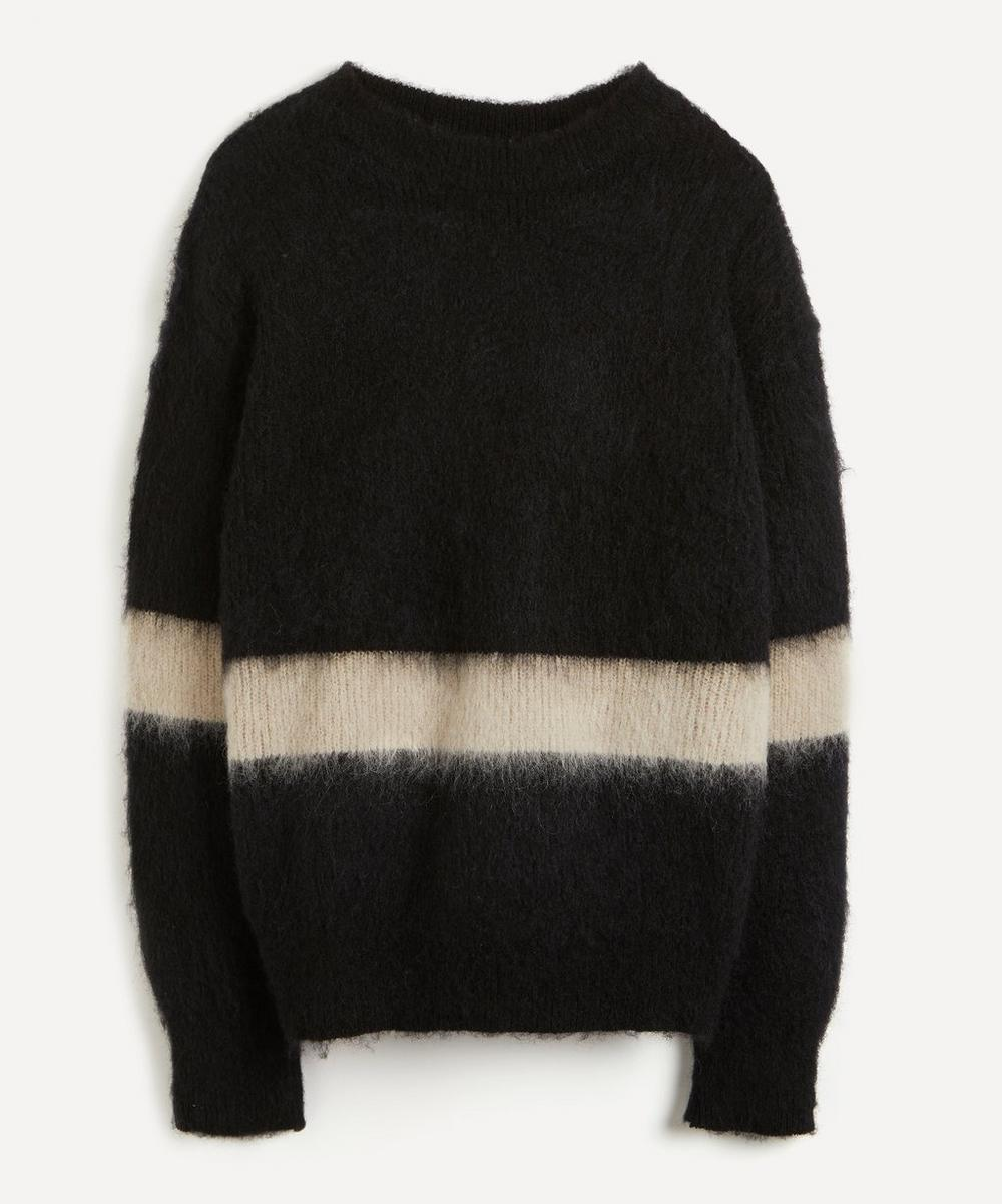 Kuro - Powder Mohair-Blend Single Stripe Jumper