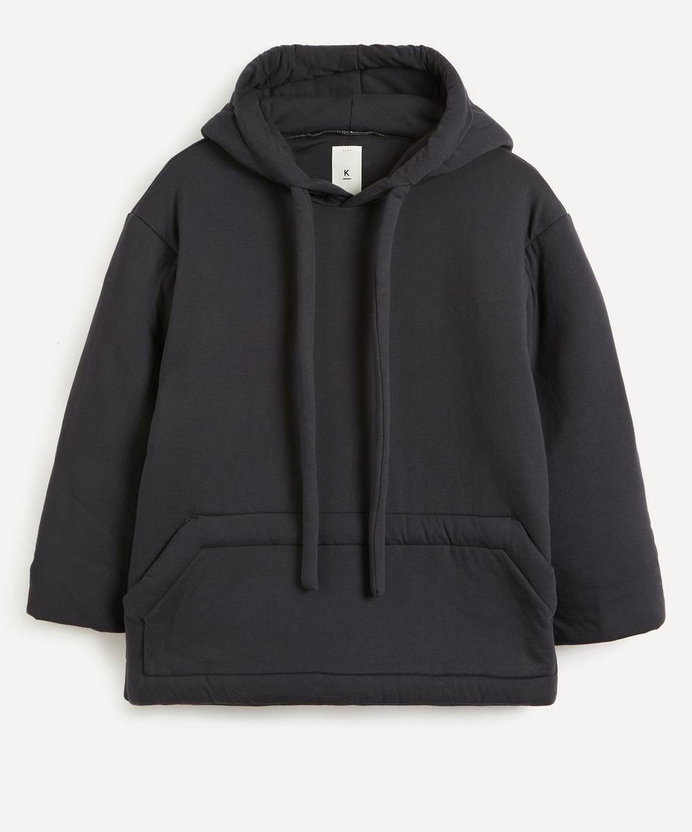 Kuro - Padded Cotton Hoodie