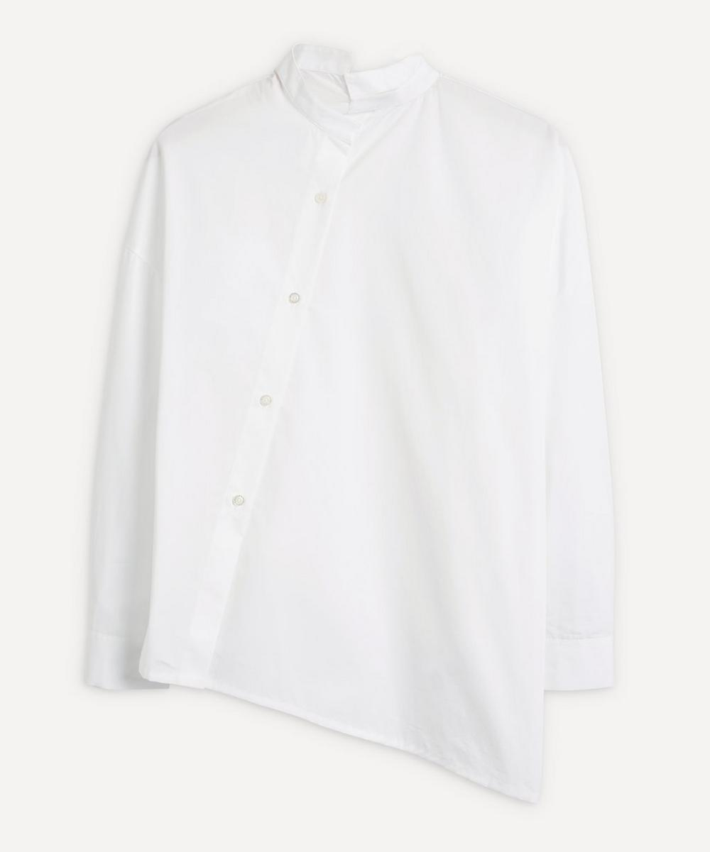 Totême - Asymmetric Poplin Shirt