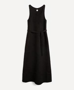 Double Wool Tank Dress