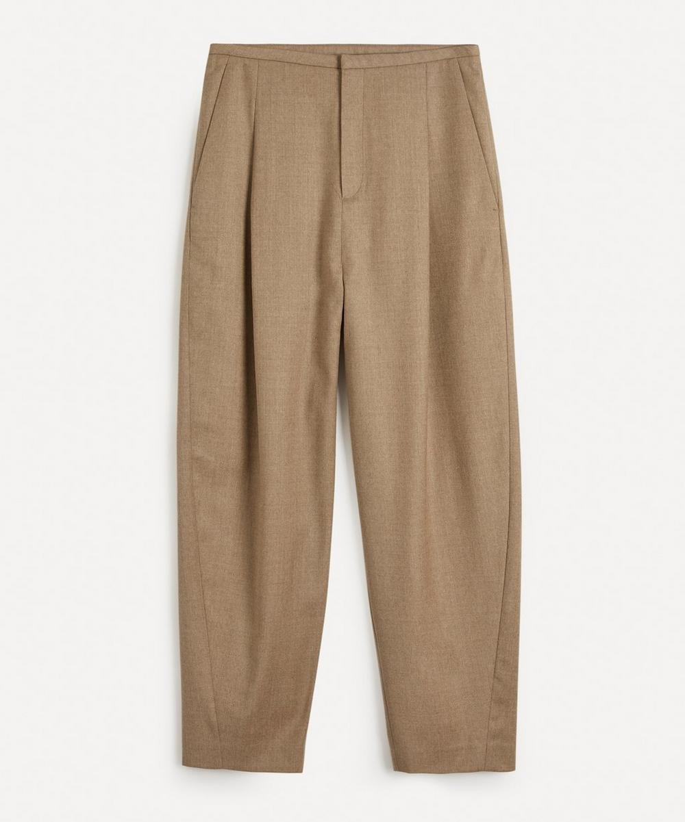 Totême - Wool Flannel Trousers