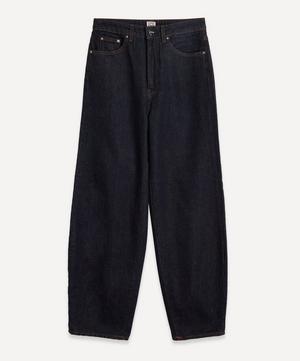 Barrel Leg Denim Jeans