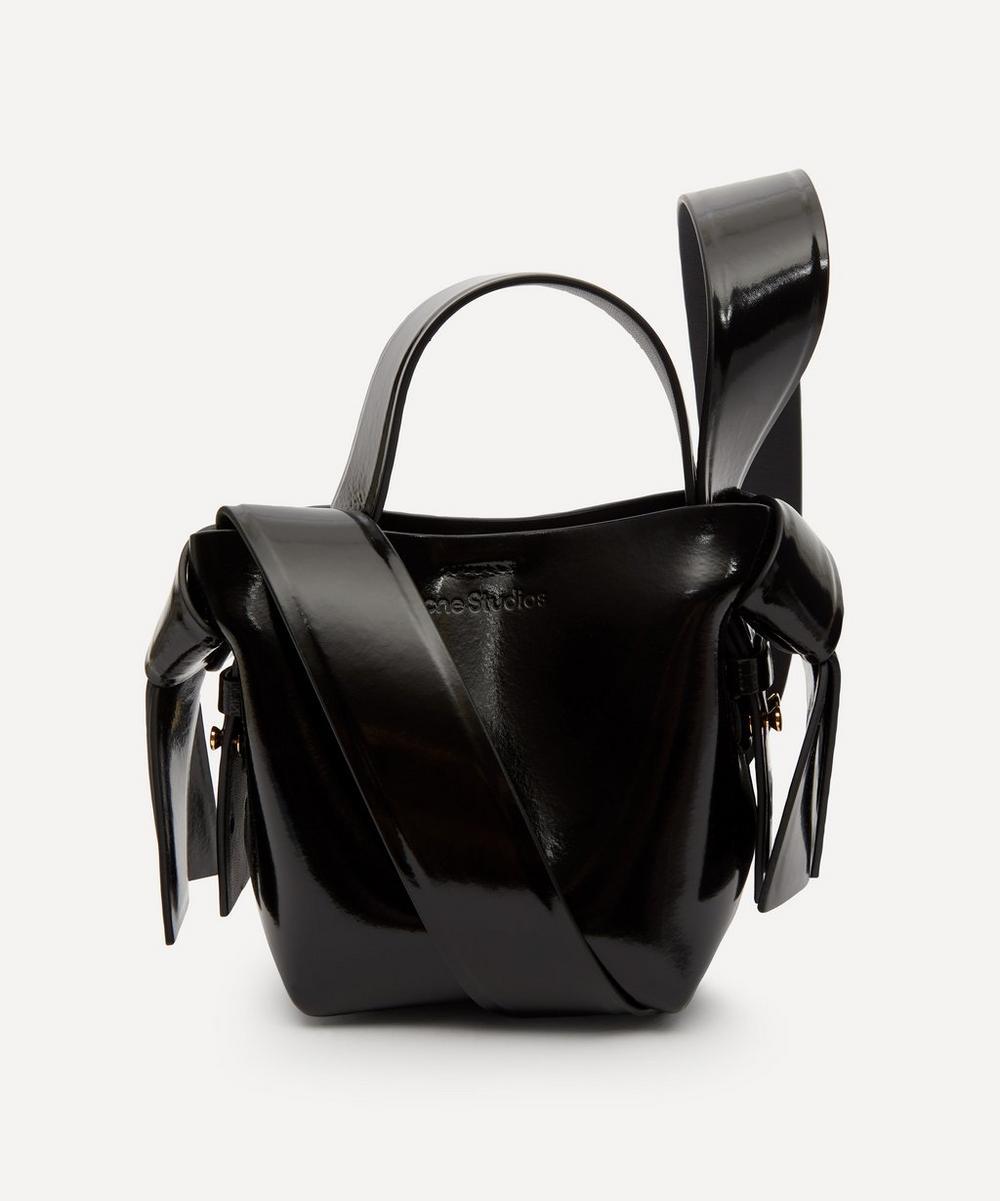 Acne Studios - Musubi Micro Patent Leather Cross-Body Bag
