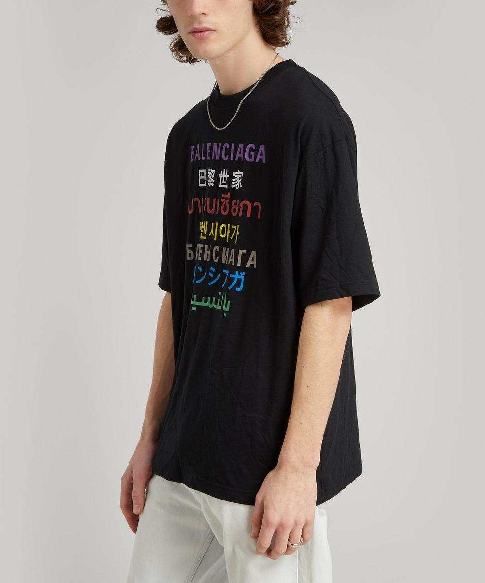 Balenciaga - Languages Logo T-Shirt