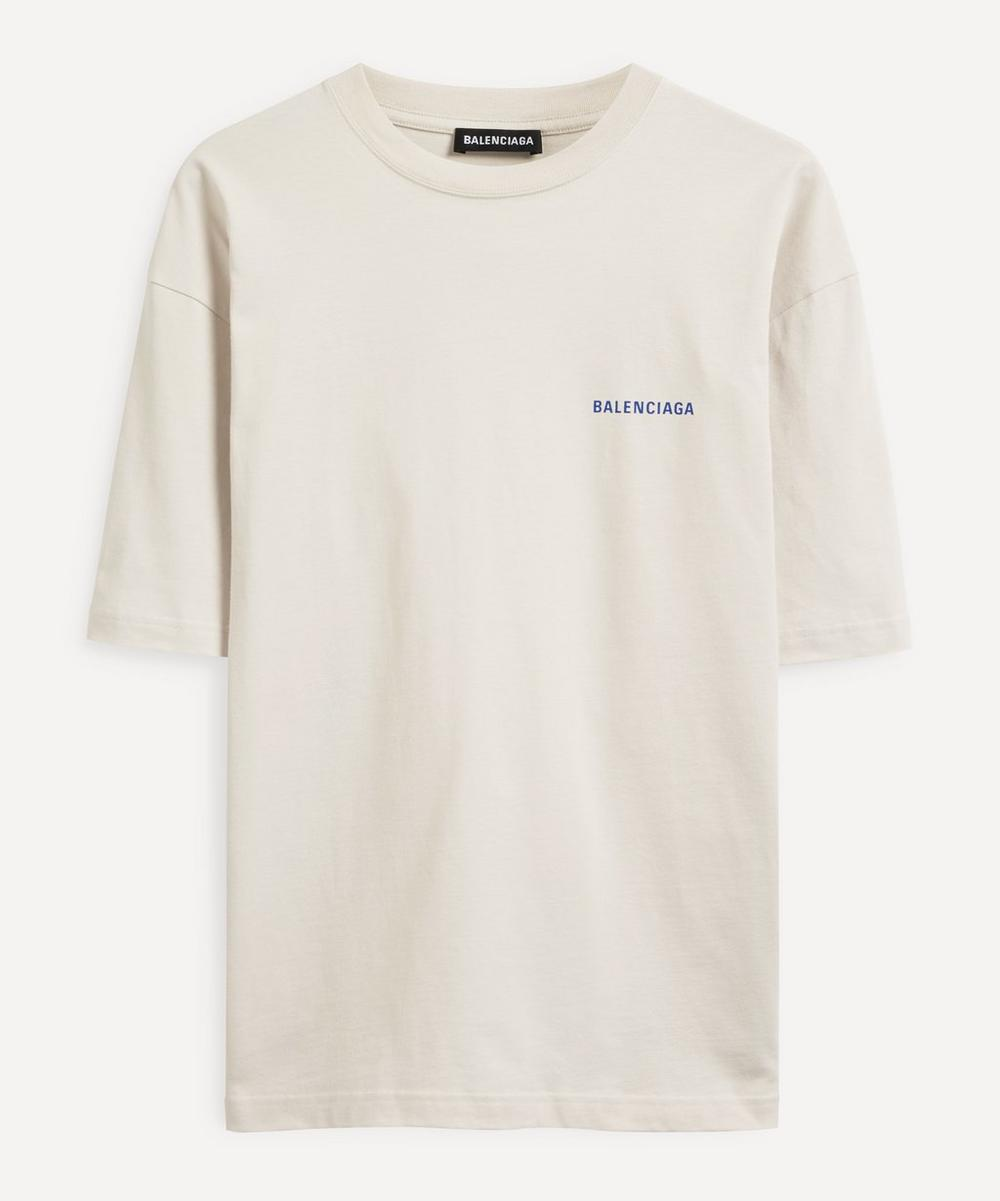 Balenciaga - Small Logo Cotton T-Shirt