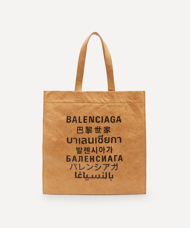 BALENCIAGA LANGUAGES TOTE BAG