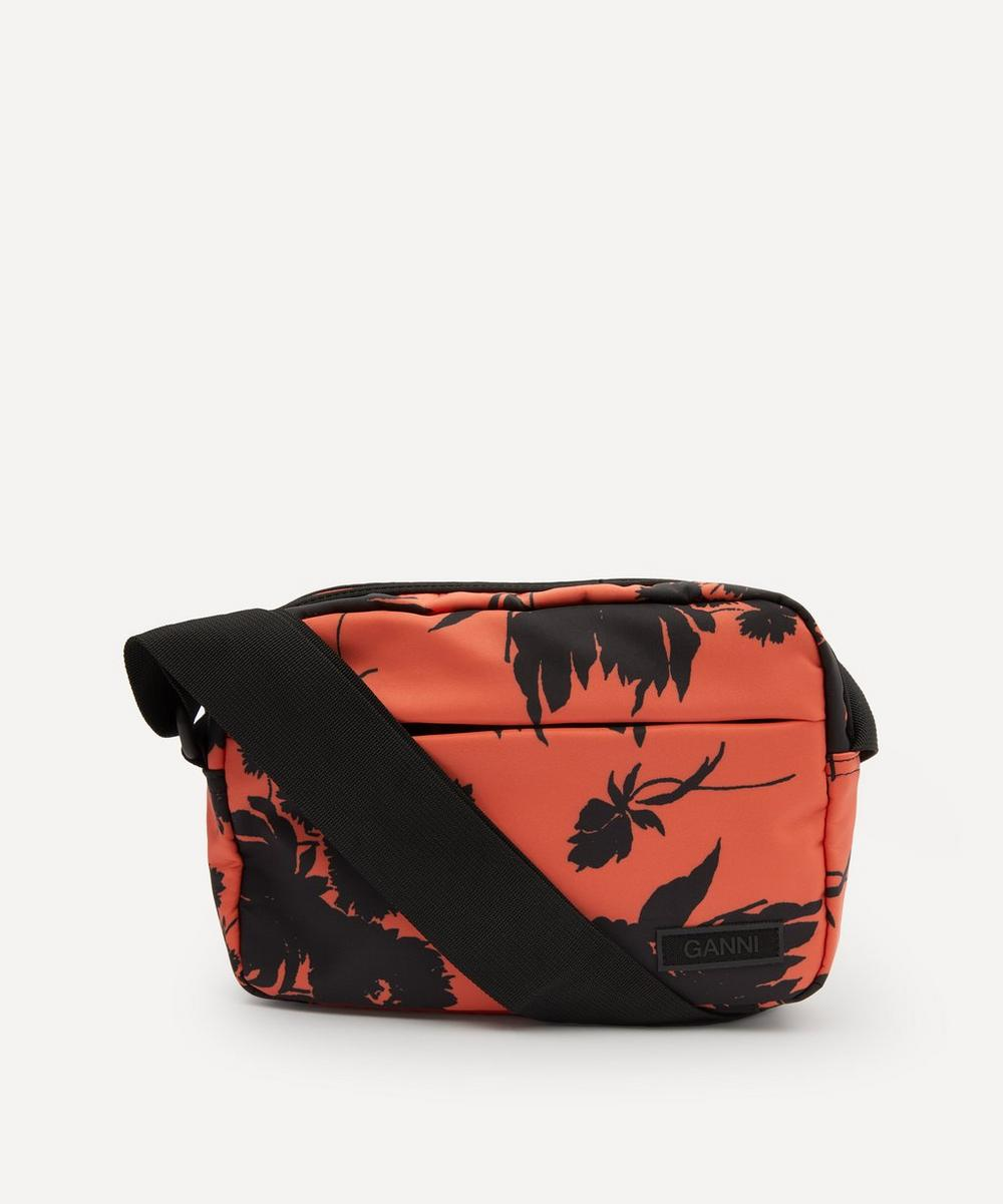 Ganni - Recycled Tech Fabric Cross-Body Bag