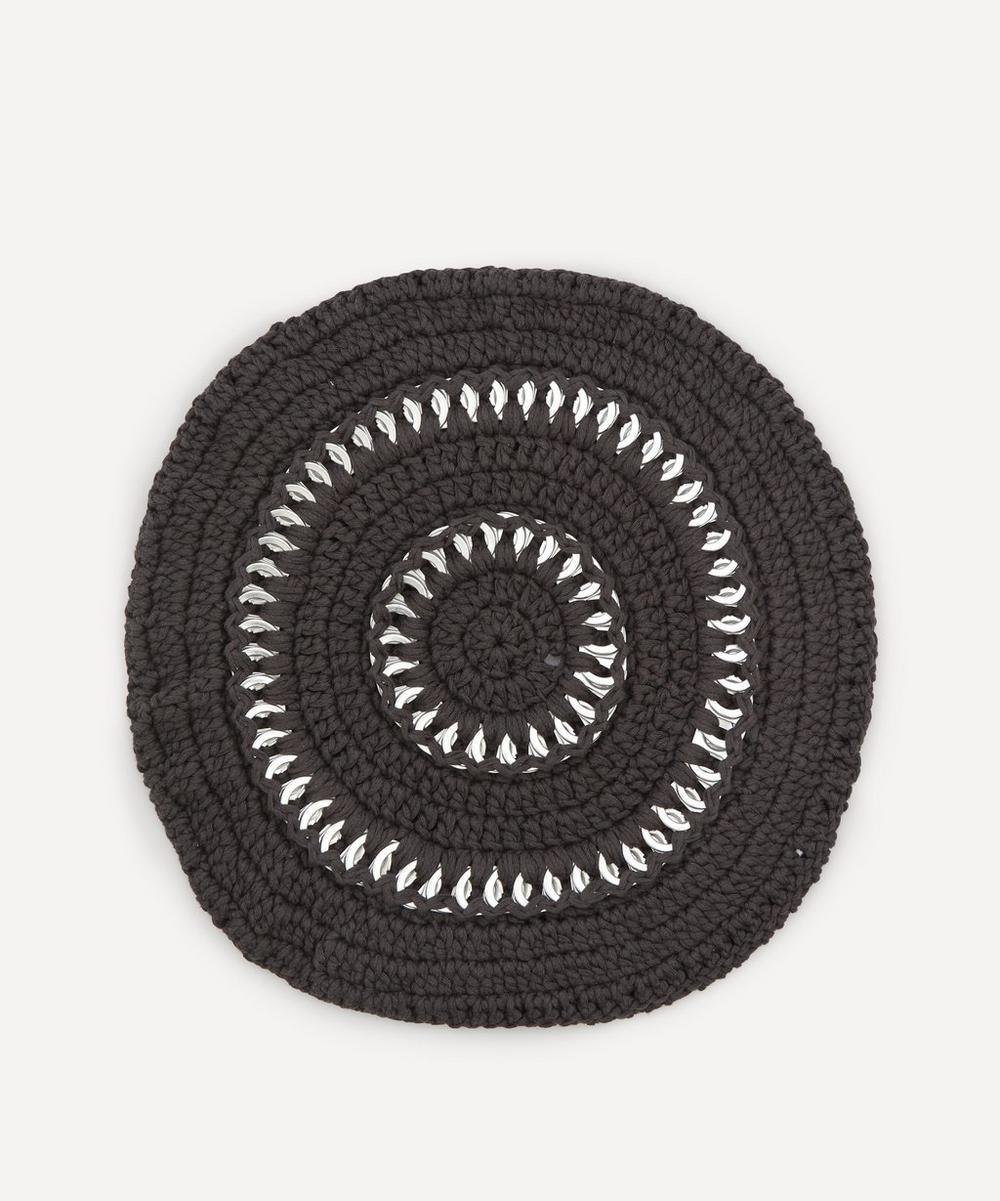 Ganni - Cotton Knit Beret