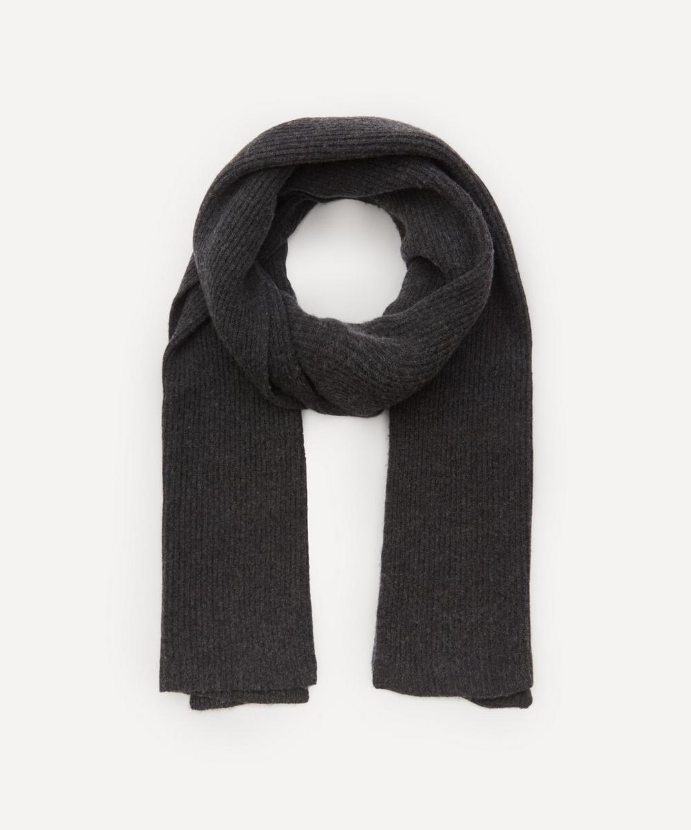 Ganni - Recycled Wool-Blend Scarf