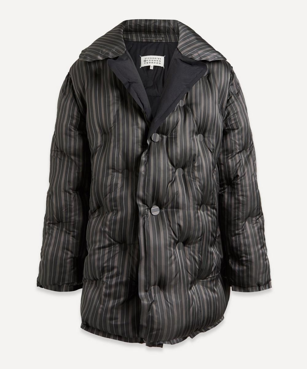 Maison Margiela - Striped Puffer Jacket