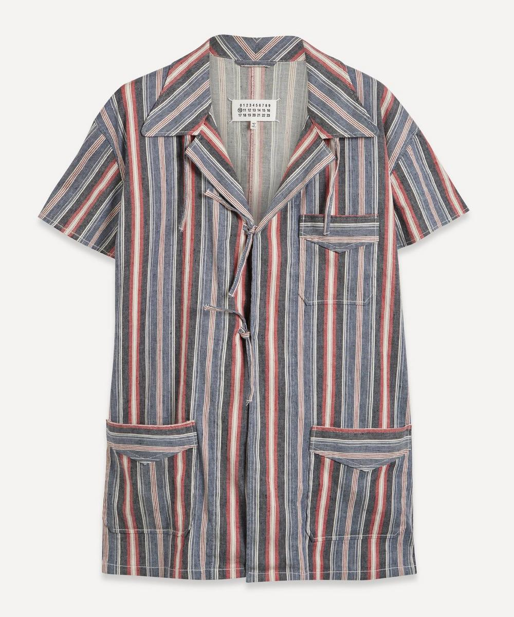 Maison Margiela - Stripe Linen Shirt
