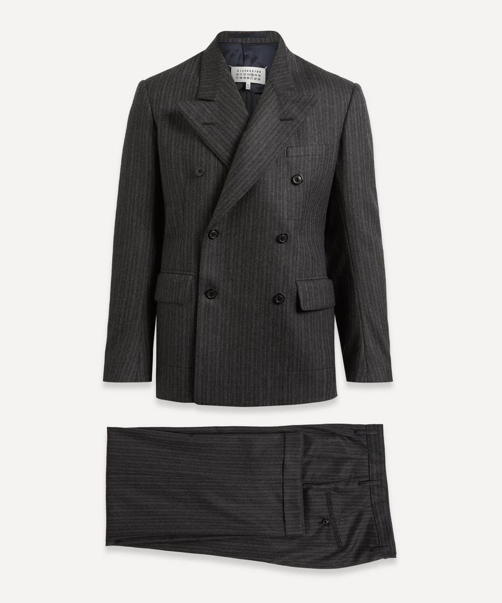 Maison Margiela - Pinstriped Double-Breasted Suit