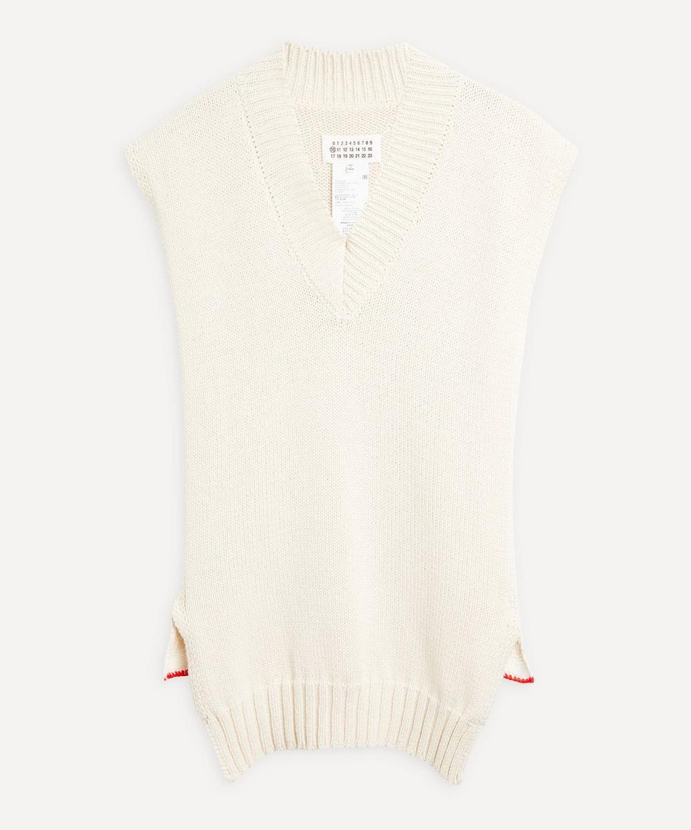 Maison Margiela - Open Weave Wool Vest
