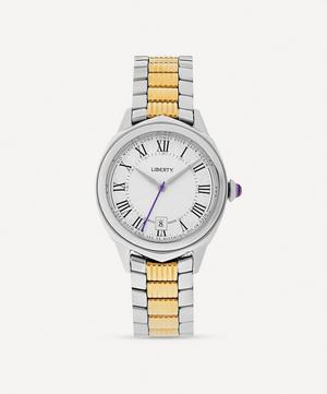 Lasenby Gold-Plated Stainless Steel Watch