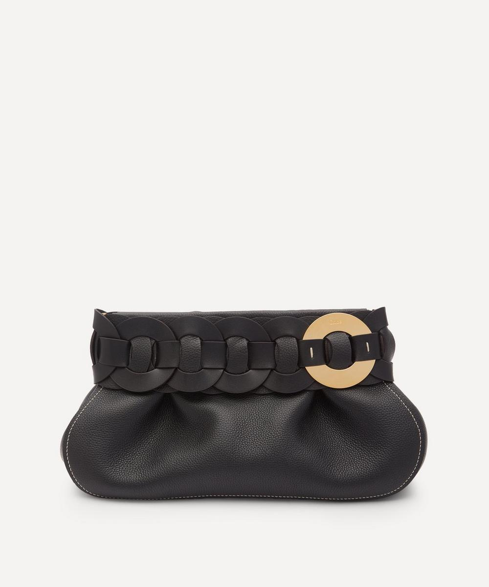 Chloé - Darryl Leather Clutch Bag