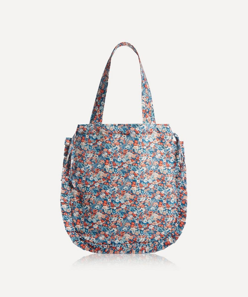Maison M - Thorpe Hill Frilled Cotton Tote Bag