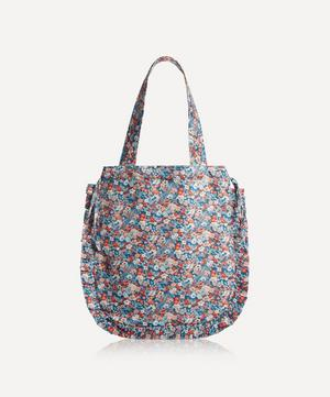 Thorpe Hill Frilled Cotton Tote Bag