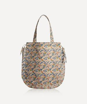 Poppy Forest Frilled Cotton Tote Bag