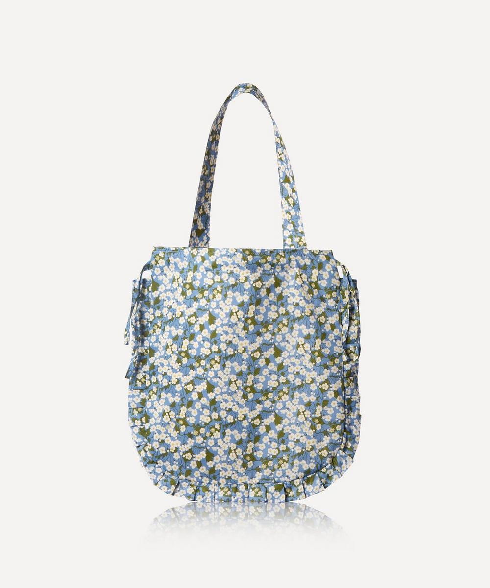 Maison M - Mitsi Frilled Cotton Tote Bag