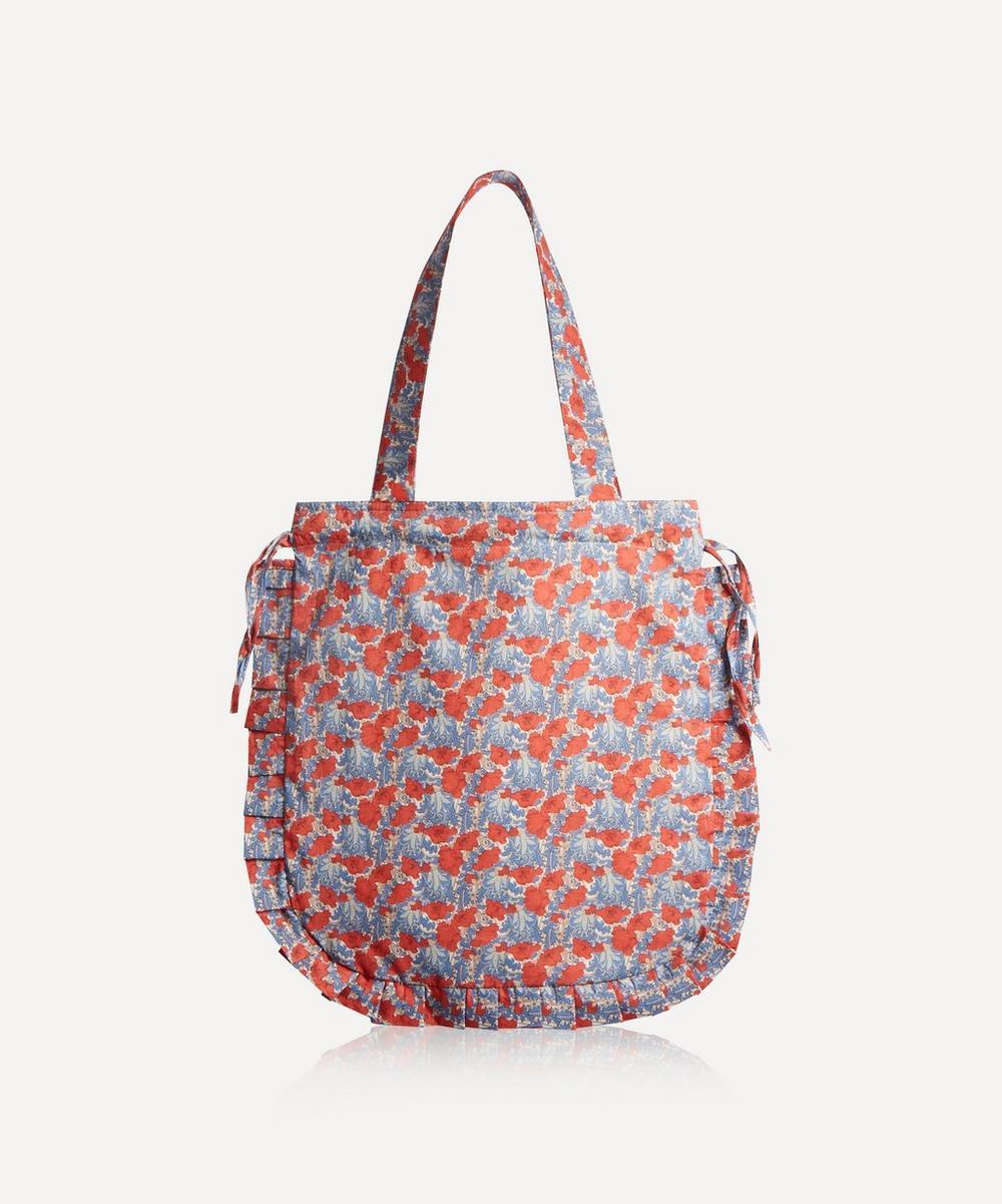 Maison M - Clementina Frilled Cotton Tote Bag