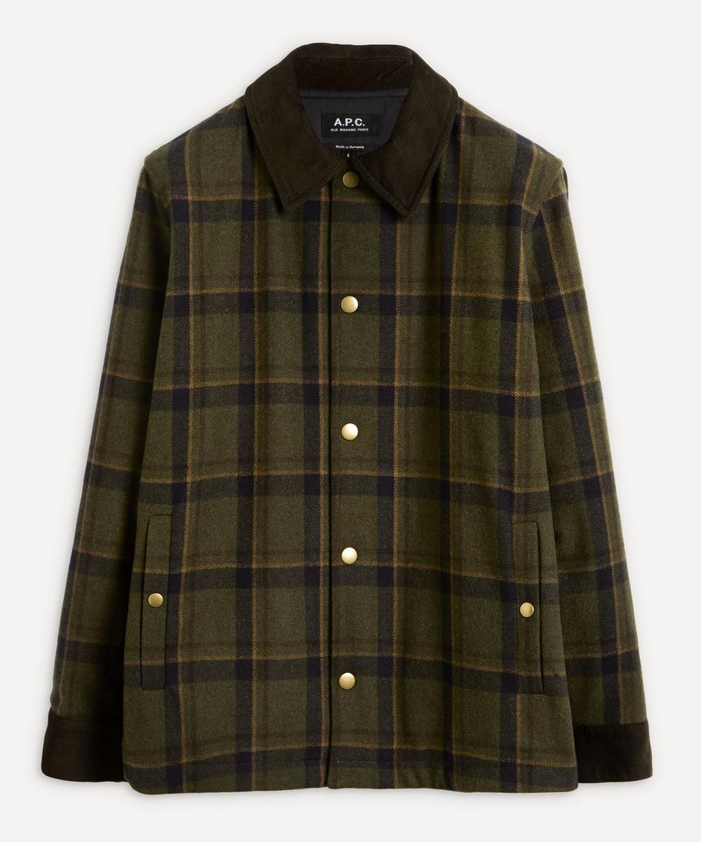 A.P.C. - Alan Check Jacket