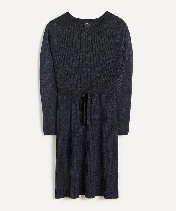 A.P.C. - Camilla Lurex Knit Dress