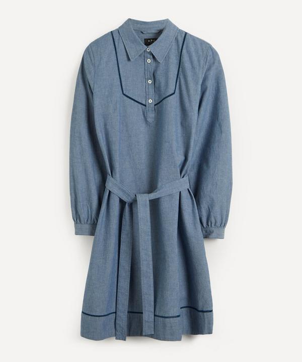 A.P.C. - Maeve Chambray Dress