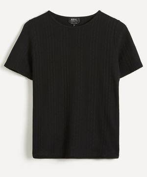 Elsie Ribbed T-Shirt