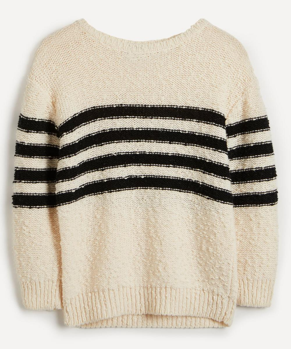 A.P.C. - Mariniere Luzia Stripe Wool-Blend Knit Sweater image number 0