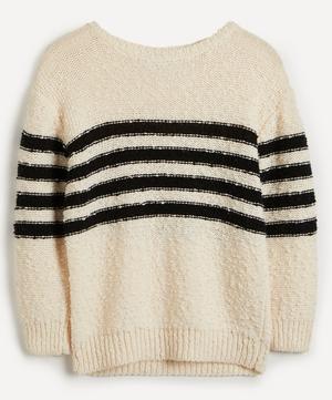 Mariniere Luzia Stripe Wool-Blend Knit Sweater
