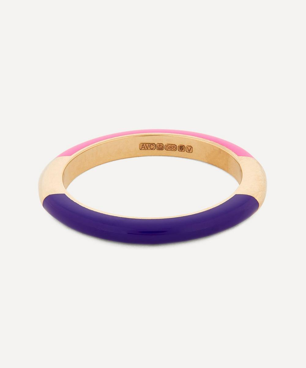 Alice Cicolini - Gold Memphis Candy Lacquer Lifebuoy Band Ring