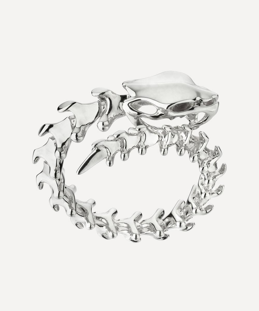 Shaun Leane - Silver Serpent's Trace Wrap Ring