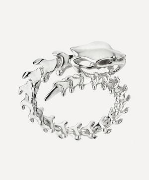 Silver Serpent's Trace Wrap Ring