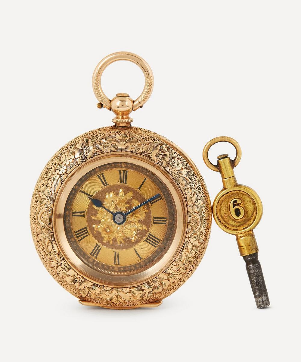 Designer Vintage - Victorian 14ct Gold Fob Watch