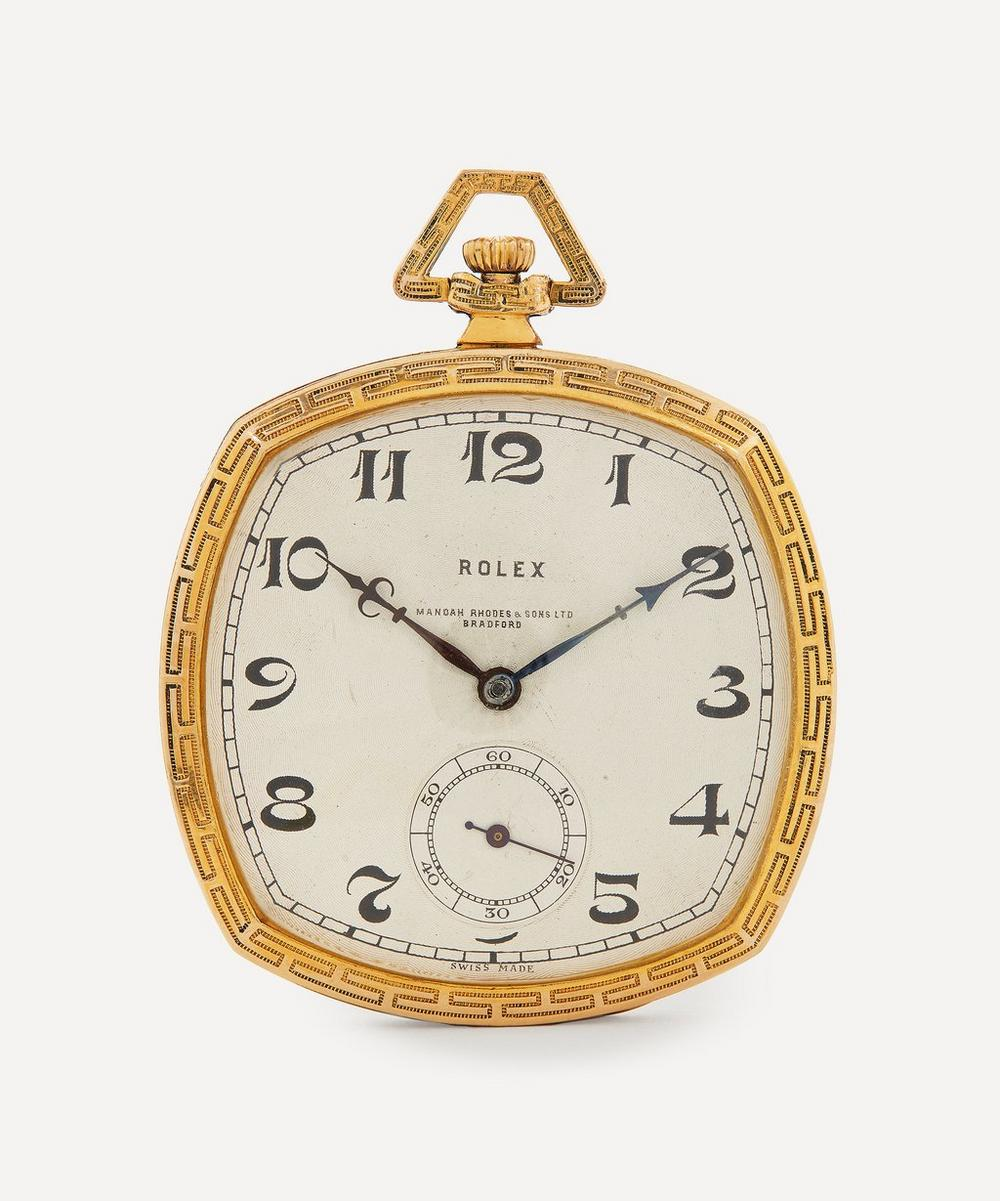 Designer Vintage - 1930s Rolex Gilt Pocket Watch