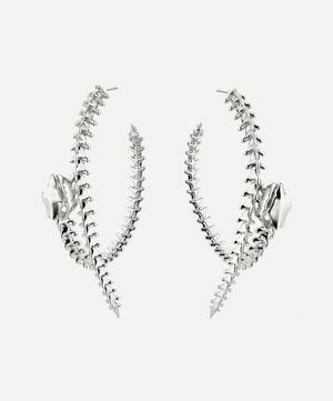 Serpent's Trace Hoop Earrings