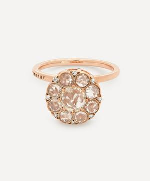 Rose Gold Beirut Diamond Ring