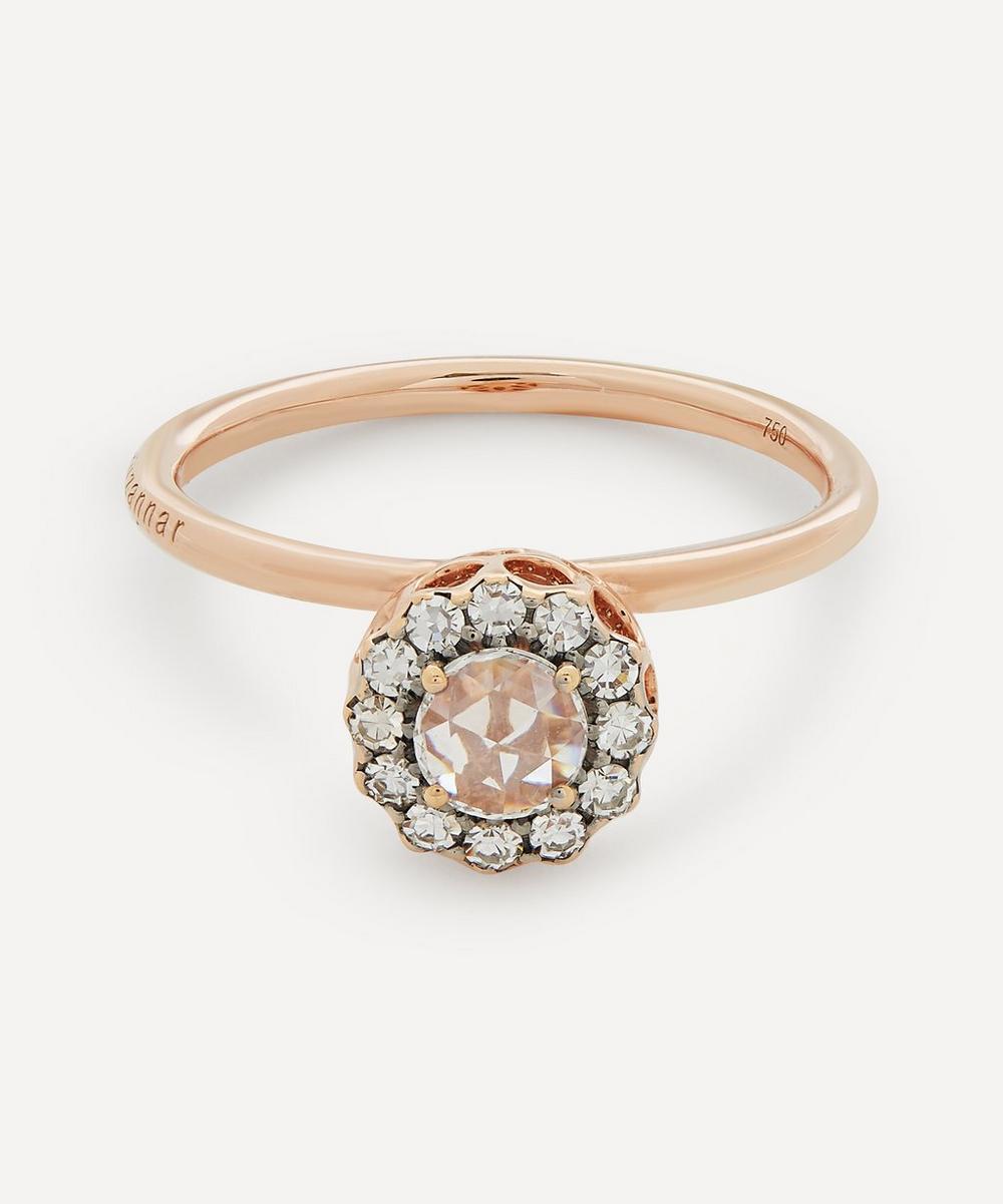 Selim Mouzannar - Rose Gold Beirut Diamond Ring
