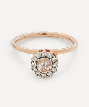 Rose Gold Beirut Diamond Ring