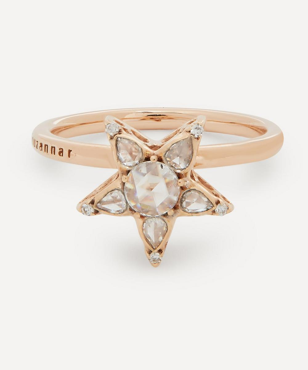 Selim Mouzannar - Rose Gold Istanbul Diamond Star Ring image number 0
