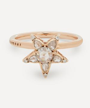 Rose Gold Istanbul Diamond Star Ring