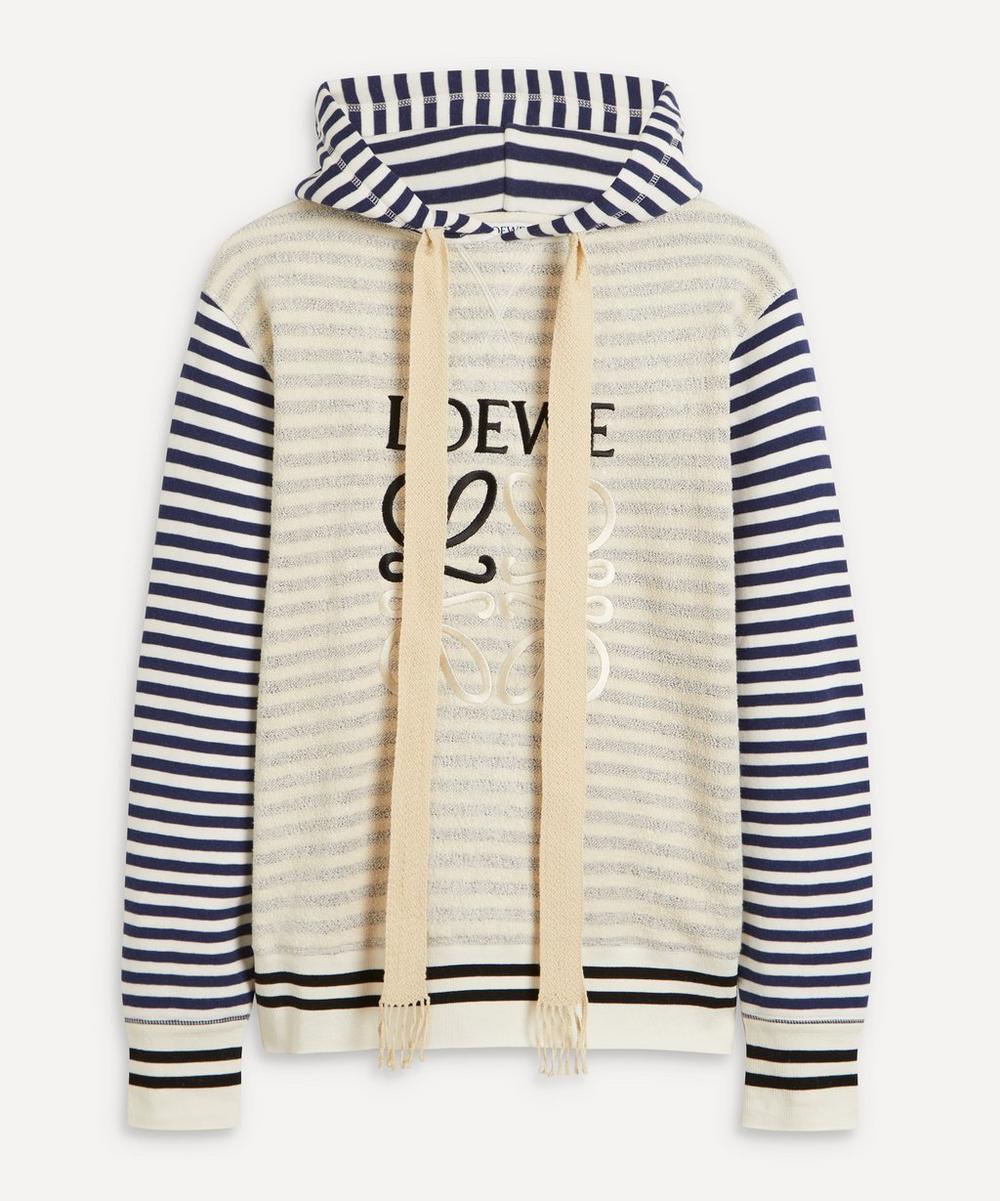 Loewe - Reverse Fleece Anagram Hoodie