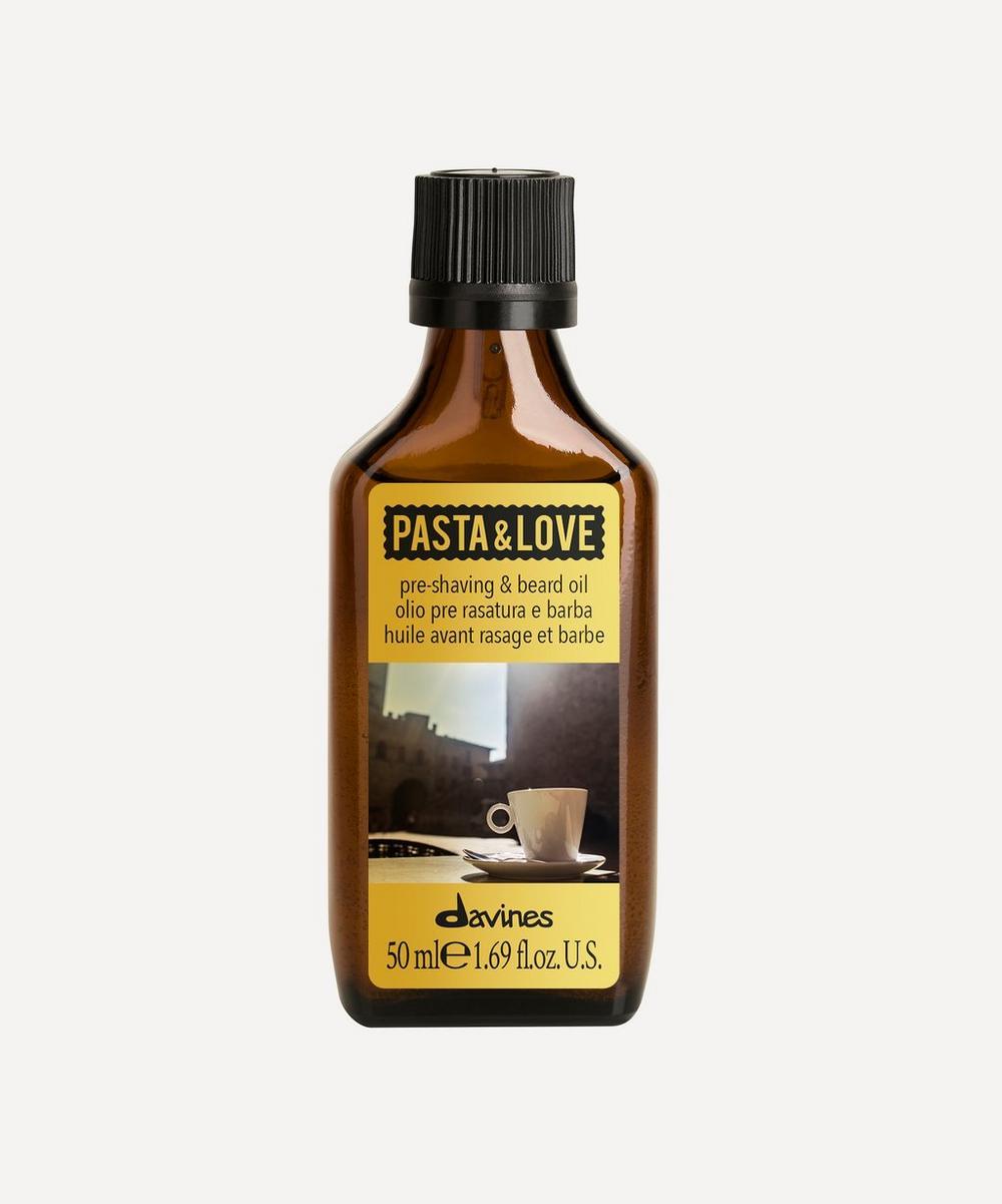 Davines - Pasta & Love Pre-Shaving & Beard Oil 50ml