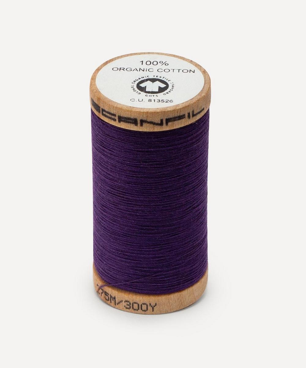 Scanfil - Dark Purple Organic Cotton Thread