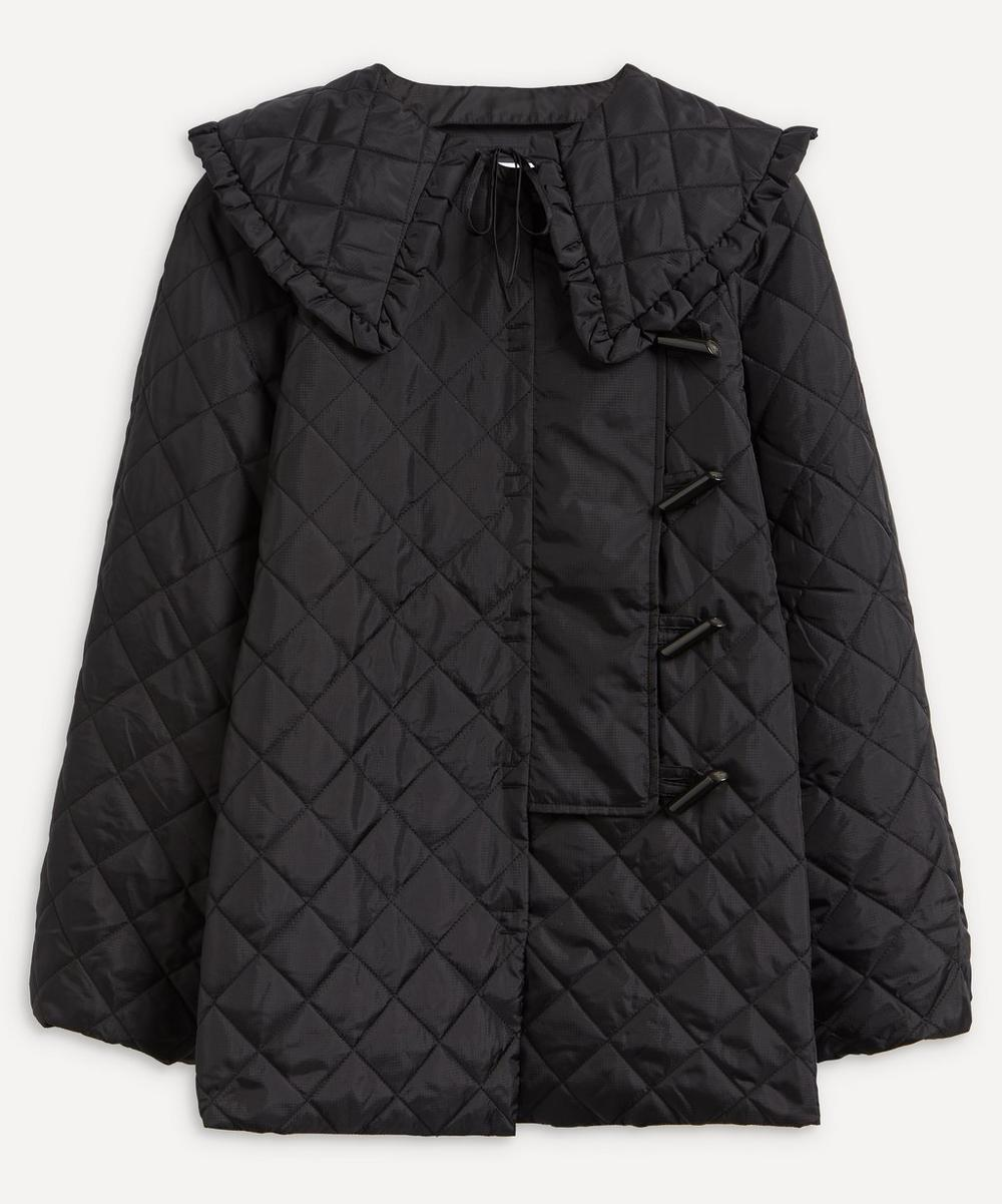 Ganni - Recycled Ripstop Quilt Jacket