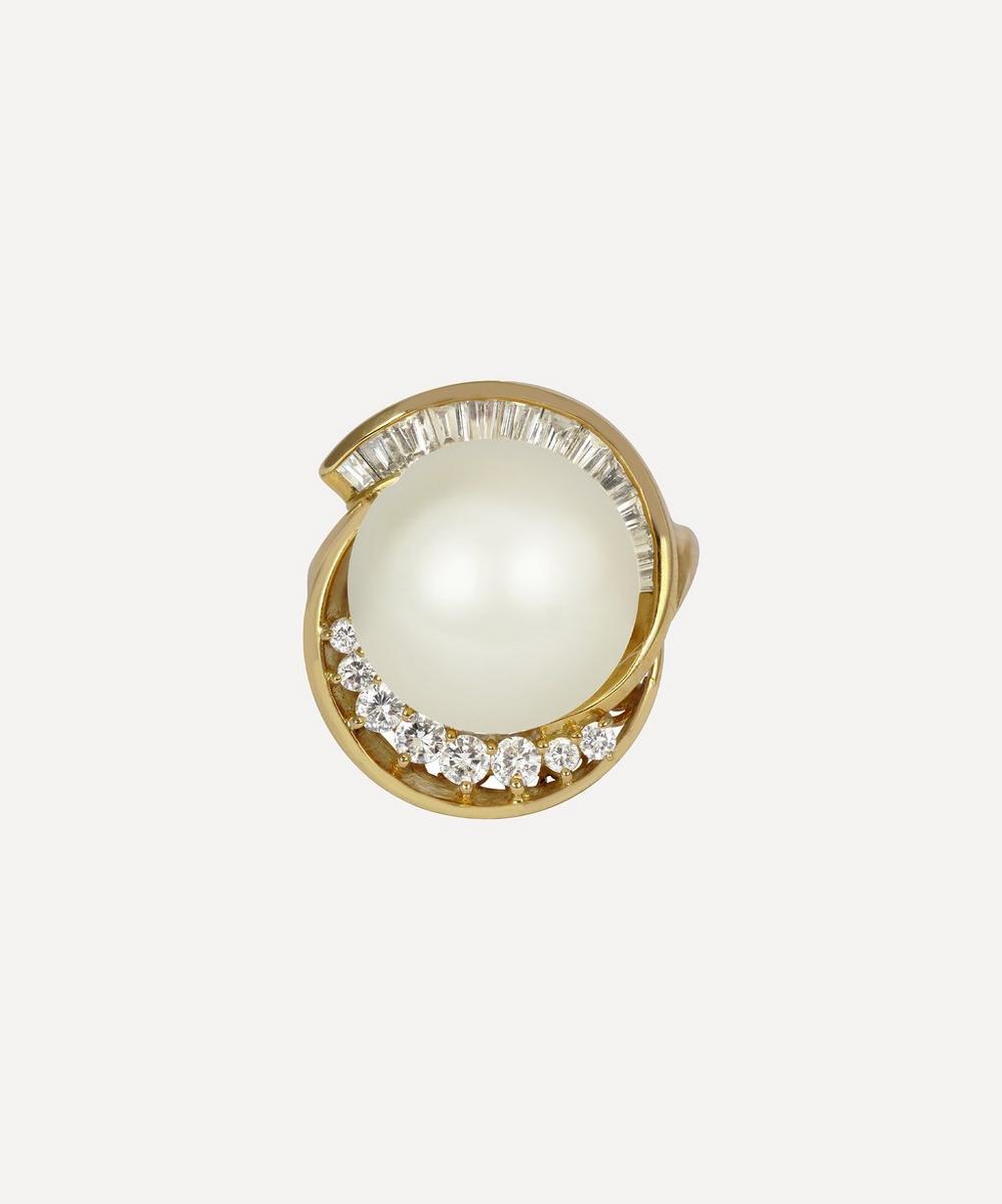Kojis - Gold South Sea Pearl and Diamond Ring